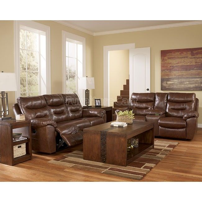 Living Room Furniture Sales: Arjen Copper Reclining Living Room Set