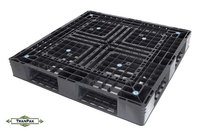 Panda Plastic Pallet for export and shipping