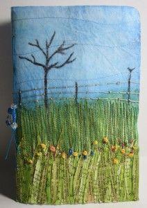 Dale Anne Potter's STITCHED workshop:  Journal your Landscape