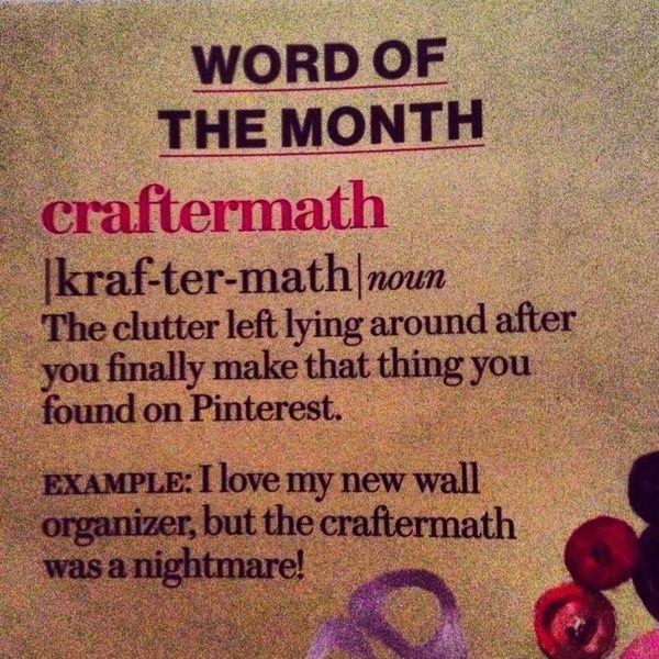 """** Artsy Fartsy """"Craftermath"""" @rustyroostervintage"""