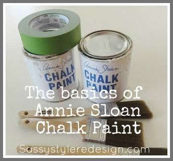Annie Sloan Chalk Paint TIPS