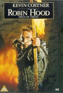 Robin Hood: Prince of Thieves - With Kevin Costner, Mary Elizabeth Mastrioantonio, Morgan Freeman, Allen Rickman, Christian Slater, etc.  I love Kevin Costner movies.  This is one of my favorites.  A really fun movie to watch and plenty of action!