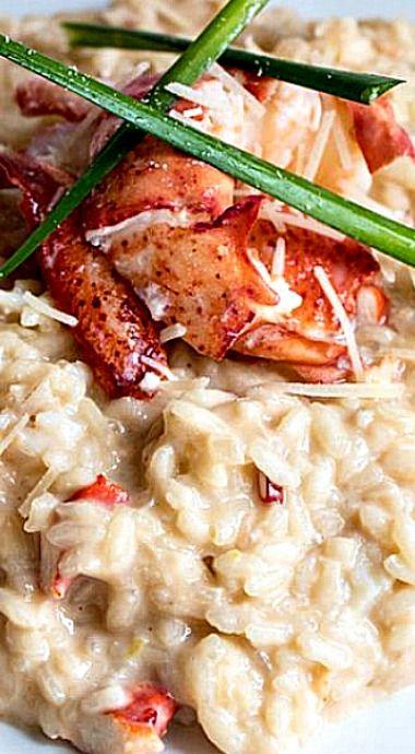 Copycat Gordon Ramsay Hell's Kitchen Lobster Risotto