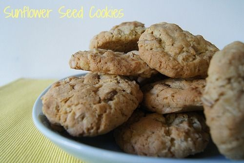 sunflower seed cookies - easy to make, the kids love them and makes a huge batch (we made 72!).