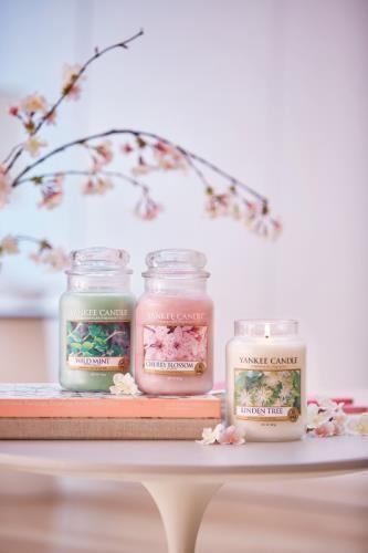 Vårens Nyheter Pure Essence 2017. Cherry Blossom, Wild Mint, Linden Tree #YankeeCandle #Nyhet2017 #CherryBlossom #LindenTree #WildMint
