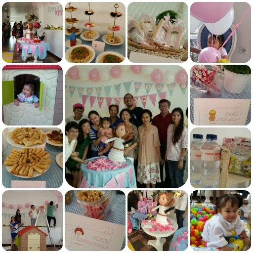 Late post. Pricess leia 1st birthday.  Too bad i didn't have all pics. Yoda water, cute lightsaber, at-at samosa, etc and leia cookies and also princess leia ballon