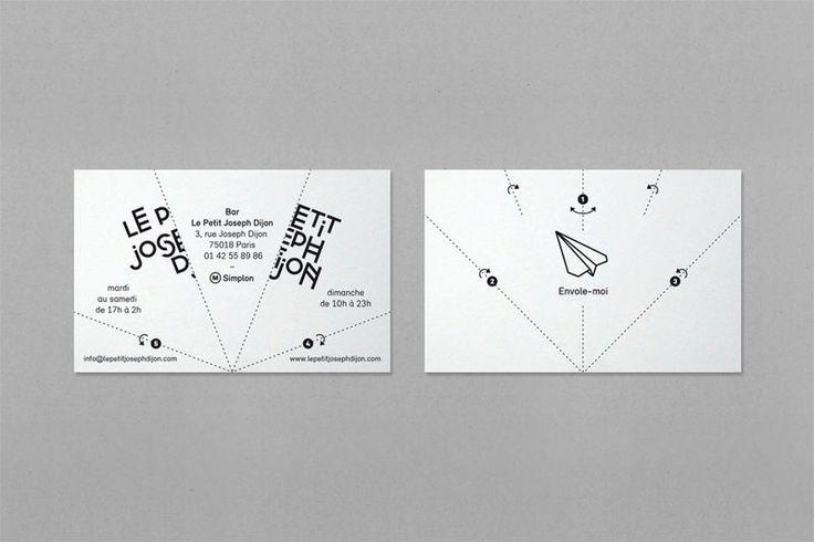 Actualité / Des cartes de visites aériennes / étapes: design & culture visuelle
