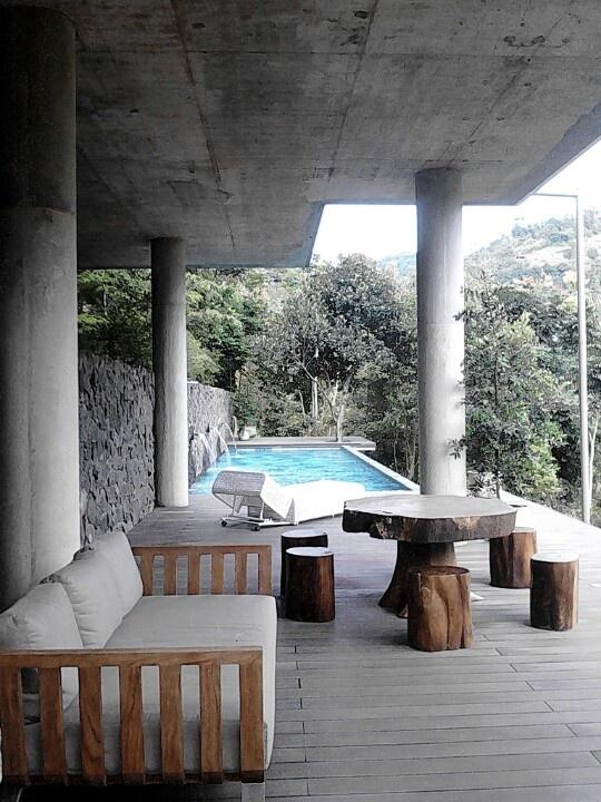Concrete & natute