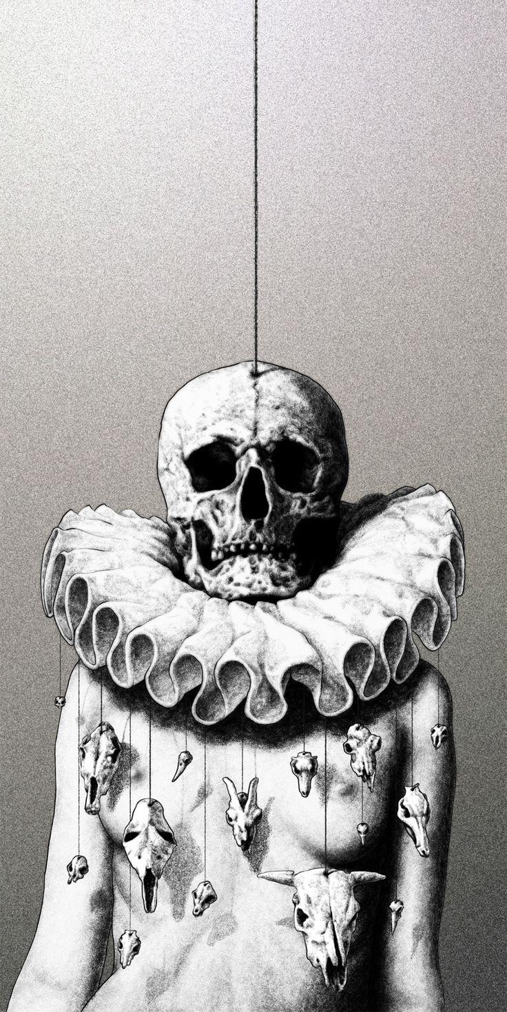 창작자들의 놀이터 : 그라폴리오  #일러스트 #일러스트레이션 #illust #illustration #해골 #죽음 #death #skull