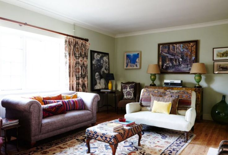 """This cosy living room is from our feature """"Colour Comfort"""""""