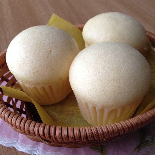 たまご蒸しパン(プリン型3個)