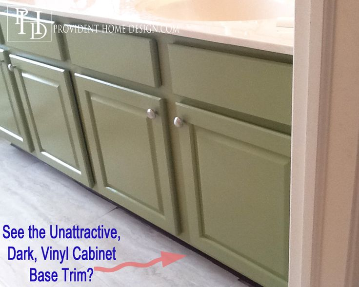 How to Paint a Bathroom Vanity like a Professional Behr alkyd enamel paint for cabinets