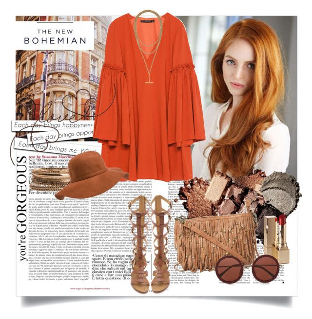 The NEW BOHEMIAN by ramona-ice on Polyvore featuring Zara, belle by Sigerson Morrison, Oasis, Forever 21, The Row, Clarins, American Eagle Outfitters, Bohemian and bohochic