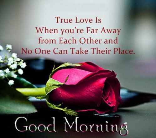 Inspirational Love Quotes Good Morning True Love Is When Youre Far