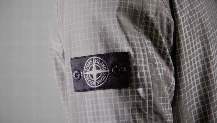 Stone Island AW '017 '018 _ Ice Jacket SI Check Grid Camo on stoneisland.com