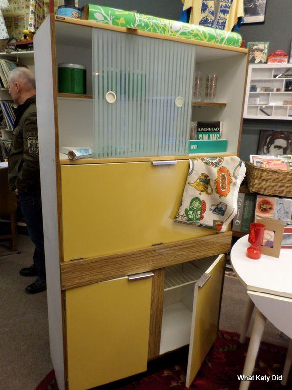 Mid century kitchen larder unit - http://whatkatydid.biz/product/kitchen-diner/mid-century-kitchen-larder-unit/