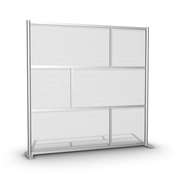 75 Wide X 75 High Office Partition And Room Divider
