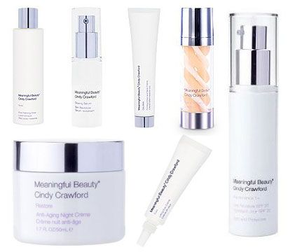 Meaningful Beauty Cindy Crawford New Advanced anti-aging System