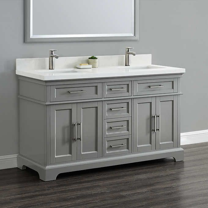 Costco Cameron 60 Double Sink Vanity By Mission Hills 899 99