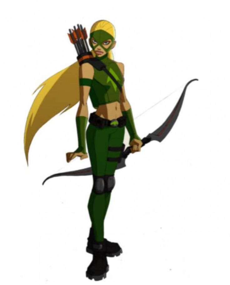 Young Justice Artemis  Love her an Wally!!!!