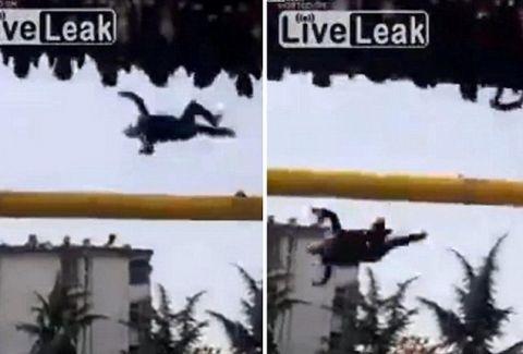 Σοκαριστικές εικόνες! Άνδρας πέφτει από ρόδα Λούνα Παρκ! (Πολύ σκληρές εικόνες)