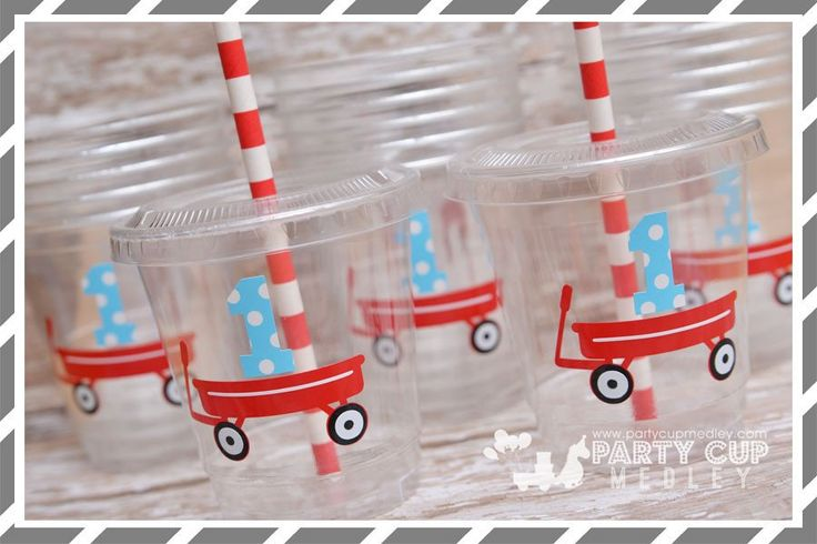 Little Red Wagon Party Supplies