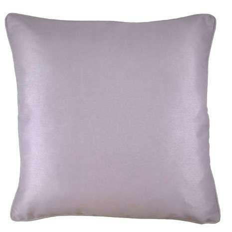 Mauve Faux Silk Cushion Cover | Dunelm