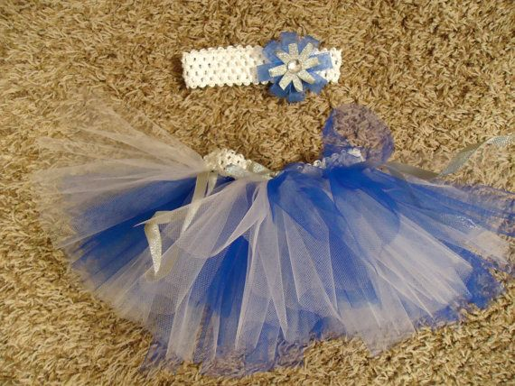 Dallas Cowboys Tutu with matching Headband by HobbyHappiness, $15.00