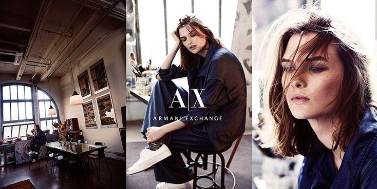Armani Exchange Fall 2015 Ad Campaign1