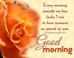 good morning wishes quotes for him