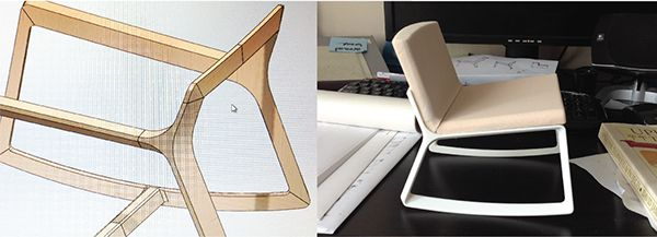 Remix Rocking Chair on Behance