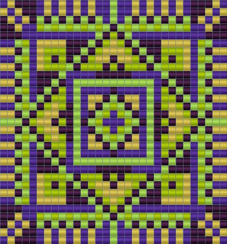 """Схема кулона """"Волшебный Лес"""" - станочное ткачество / гобеленовое плетение"""
