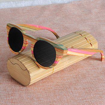 BOBO BIRD Wooden Sunglasses QZMY22
