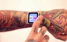 This Guy Gave Himself Implants for His iPod Nano: Magnets Implant, Ipods, Tattoo Artists, Ipod Nano, Hold Ipod, Implant Magnets, Ipod Implant, Watches, Innovation Technology