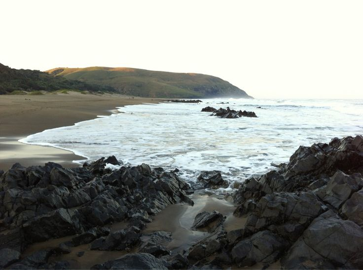 Port St John's beach sunset