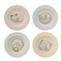 Bloomingville / Polévkový talíř Animals