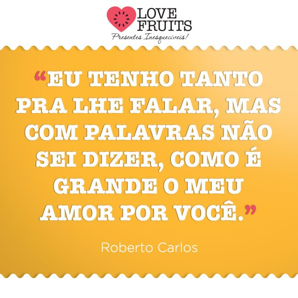 Como é grande o meu amor por você - Roberto Carlos