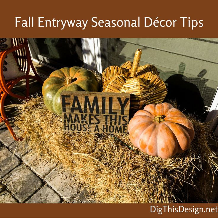 I love the fall season and it is important to me that my home is decorated in the seasons colors and textures.