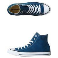 Converse Chuck Taylor All Star Hi Seasonal Shoe Blue Cotton