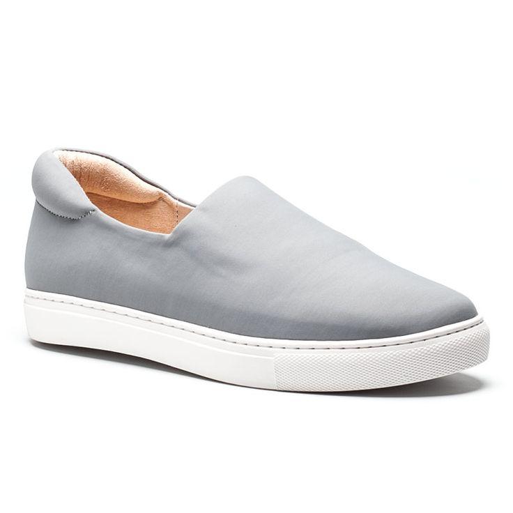 STACIE Gray Stretch Sneaker - $79.00