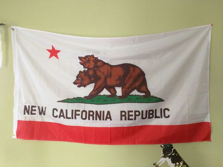 #Fallout New California Republic Flag