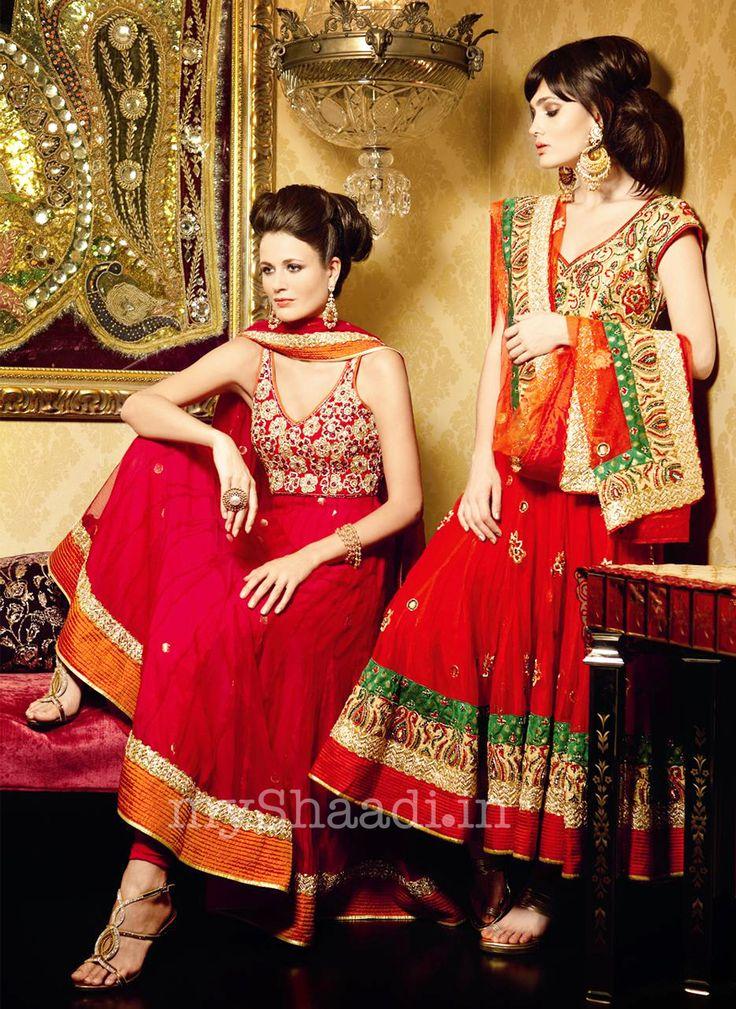 myShaadi.in > Indian Bridal Wear by Maheka Mirpuri