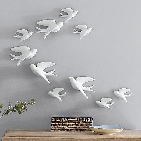 Set of Five Birds of Flight Wall Art - Grandin Road