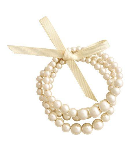 Lot de 3 Bracelets (Blanc) {6,95 €}