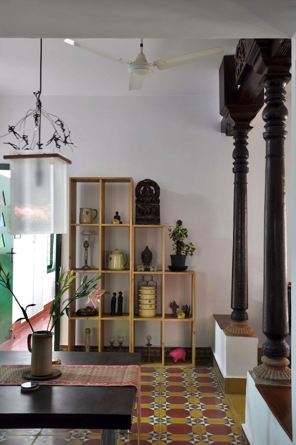COLUMNS. Eclectic collection but very well displayed.