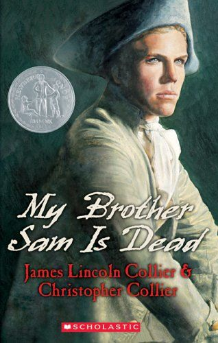 This is a great historical fiction about a young boy who has to take sides between the loyalists and the rebels in the American Revolution.