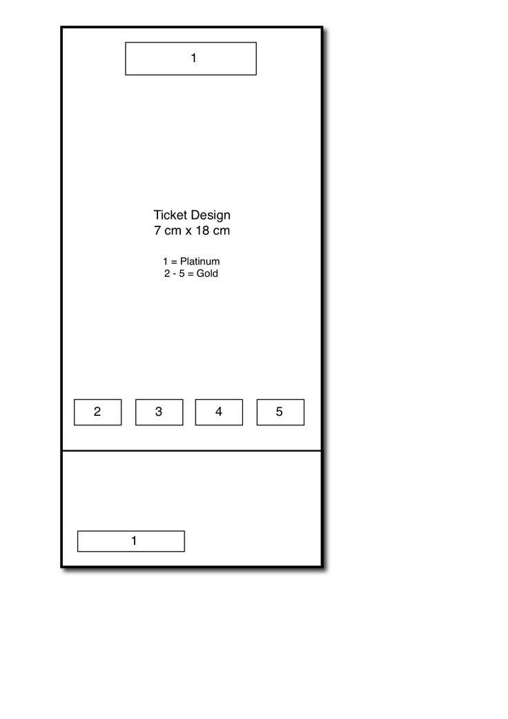 Biennium Ticket Sponsors layout