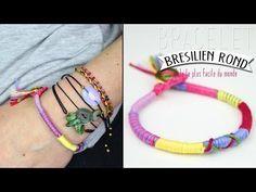 DIY : Le bracelet brésilien rond, le tuto le plus simple du monde !             |              DIY | Do it yourself | By Isnata