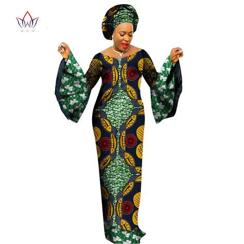 Cheap african women dresses, Buy Quality women dress directly from China party dresses Suppliers: BRW 2017 New Arriving African Women Dresses Dashiki Lace Patchwork Traditional African Clothing Flare Sleeve Party Dress WY1402