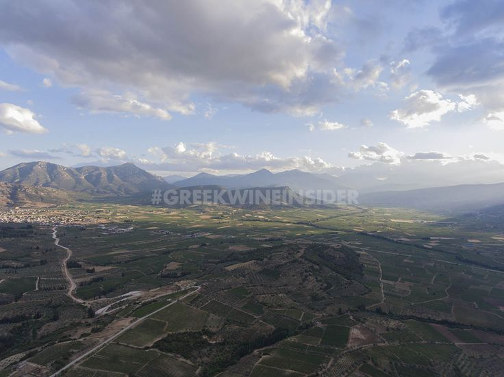 The Vineyard Valley of Nemea, Peloponnese, Greece